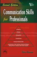 Communication Skills for Professionals PDF