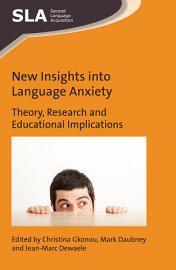 New Insights into Language Anxiety PDF