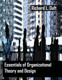 Essentials of Organization Theory and Design Book