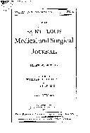 St. Louis Medical and Surgical Journal