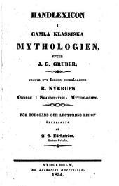 Handlexicon i gamla klassiska mythologien
