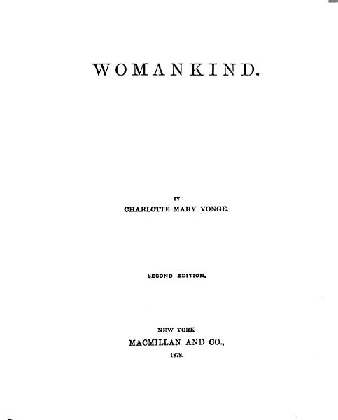 Download Womankind Book