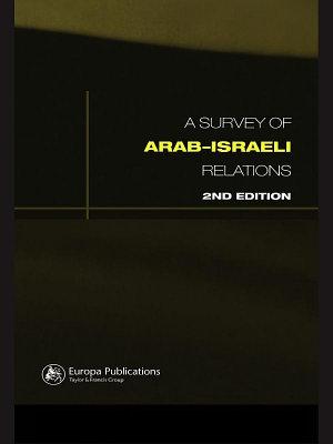 Survey of Arab Israeli Relations PDF