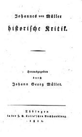 Johannes von Müller sämmtliche Werke: Band 11