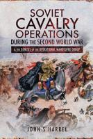 Soviet Cavalry Operations During the Second World War PDF