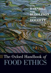 The Oxford Handbook Of Food Ethics Book PDF