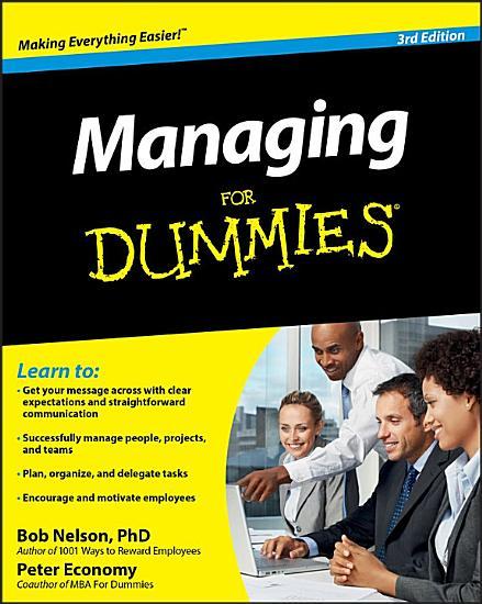 Managing For Dummies PDF