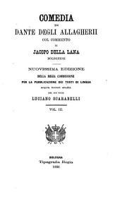 Comedia di Dante degli Allagherii: Volume 40
