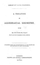 A Treatise on Algebraical Geometry