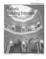 Historic Building Interiors PDF