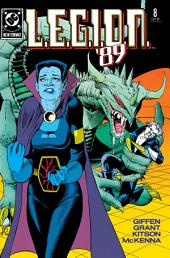 L.E.G.I.O.N. (1989-) #8