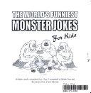 World's Funniest Monster Jokes for Kids