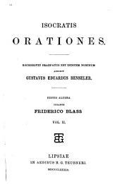 Isocratis Orationes: Volume 2