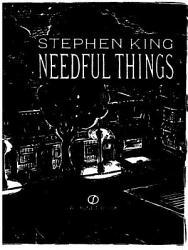 Needful Things Book PDF