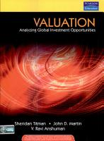 Valuation  Analyzing Global Investment Opportunities PDF