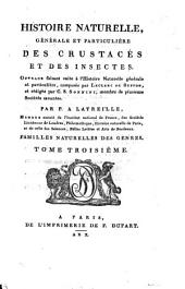 Histoire naturelle, générale et particulière des crustacés et des insectes: Volume3
