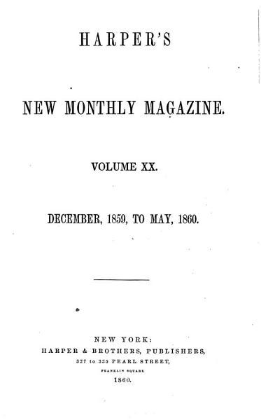 Download Harper s New Monthly Magazine Book