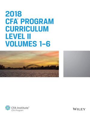 CFA Program Curriculum 2018 Level II PDF