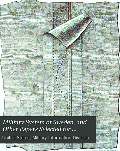 Download Military System of Sweden  and Other Papers Selected for Publication Book