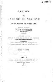 Lettres de Madame de Sévigné, de sa famille et de ses amis: II-XII