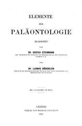 Elemente der paläontologie bearbeitet
