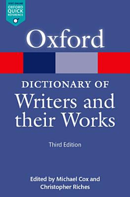 A Dictionary of Writers and their Works PDF