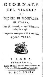 Journal du voyage de Michel de Montaigne en Italie: par la Suisse & l'Allemagne en 1580 & 1581, Volume1