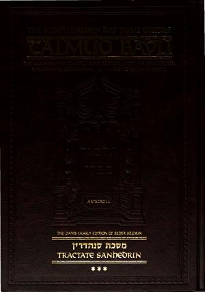 Talmud Bavli  Tractate Sanhedrin  vol  2 3