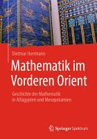Mathematik im Vorderen Orient PDF