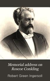 Memorial Address on Roscoe Conkling