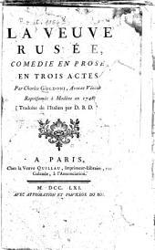 La veuve rusée: Comédie en prose, en 3 actes