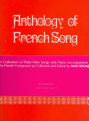 Anthology of Modern French Song  39 Songs  PDF