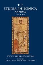 The Studia Philonica Annual XXXI, 2019