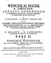 Annales Bohemorum e Bohemica editione Latine redditi: et notis ilustrati a Victorino a S. Cruce, Volume 2
