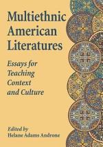 Multiethnic American Literatures