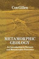 Metamorphic Geology