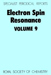 Electron Spin Resonance: Volume 9