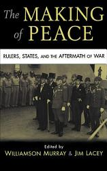 The Making Of Peace Book PDF