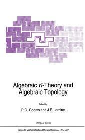 Algebraic K-Theory and Algebraic Topology