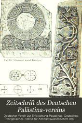 Zeitschrift des Deutschen Palästina-Vereins: Bände 7-9