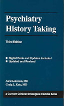 Psychiatry History Taking PDF