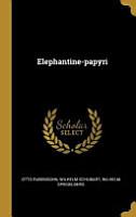 Elephantine Papyri PDF