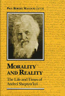 Download Morality and Reality Book