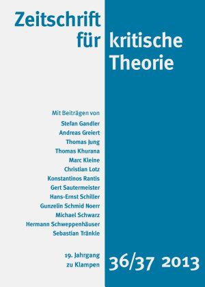 Zeitschrift f  r kritische Theorie