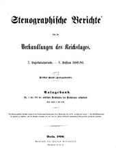 Verhandlungen des Reichstags: Band 113
