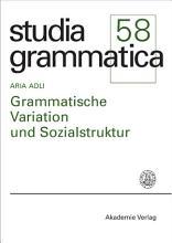 Grammatische Variation und Sozialstruktur PDF