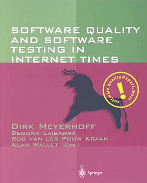 Software Quality and Software Testing in Internet Times PDF