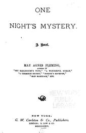 One Night's Mystery: A Novel