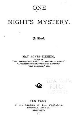 One Night s Mystery