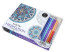 Vive Le Color Meditation Adult Coloring Book And Pencils